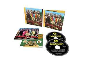 The Beatles - Sgt. Pepper's Lonely Hearts Club Band 2 CD Anniversary Edition. Amazon £9.99 (with Prime) £12.98 without.