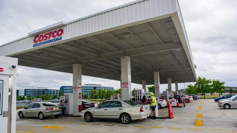 Costco unleaded fuel now 120.99p Glasgow
