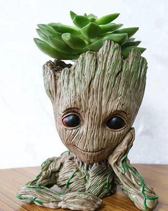 Tree Man plant pot / pen holder ornament in Meditation design £2.65 each delivered with code @ Dresslily
