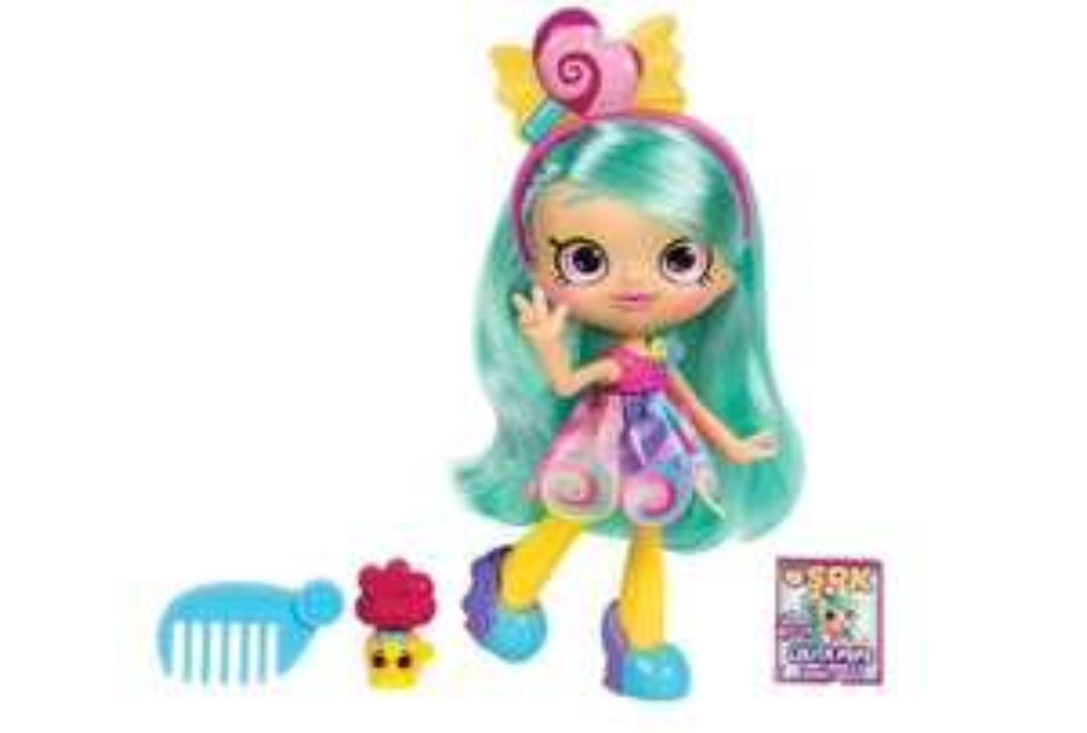 Shopkins Shoppies Shop Style Dolls - Lolita Pops @ Amazon £11.99 (Prime) £16.48 (Non Prime)