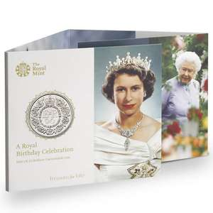 Free £5 coin (Queen's 90th or Xmas tree) with purchase of over £30 at Royal Mint