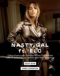 Students! Get 35% Student Discount at Nasty Gal with #UNiDAYS