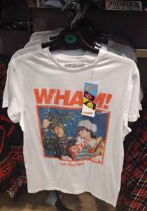 Wham! Last Christmas (Single Cover) T-shirt £8, Or Sweater £12, In Store @ Primark