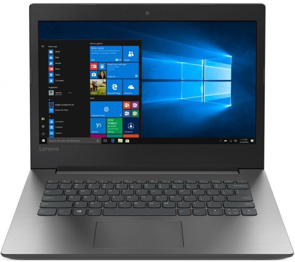 """LENOVO 330-14AST 14"""" AMD A6 Laptop - 1 TB HDD, Grey - £249 @ Currys"""