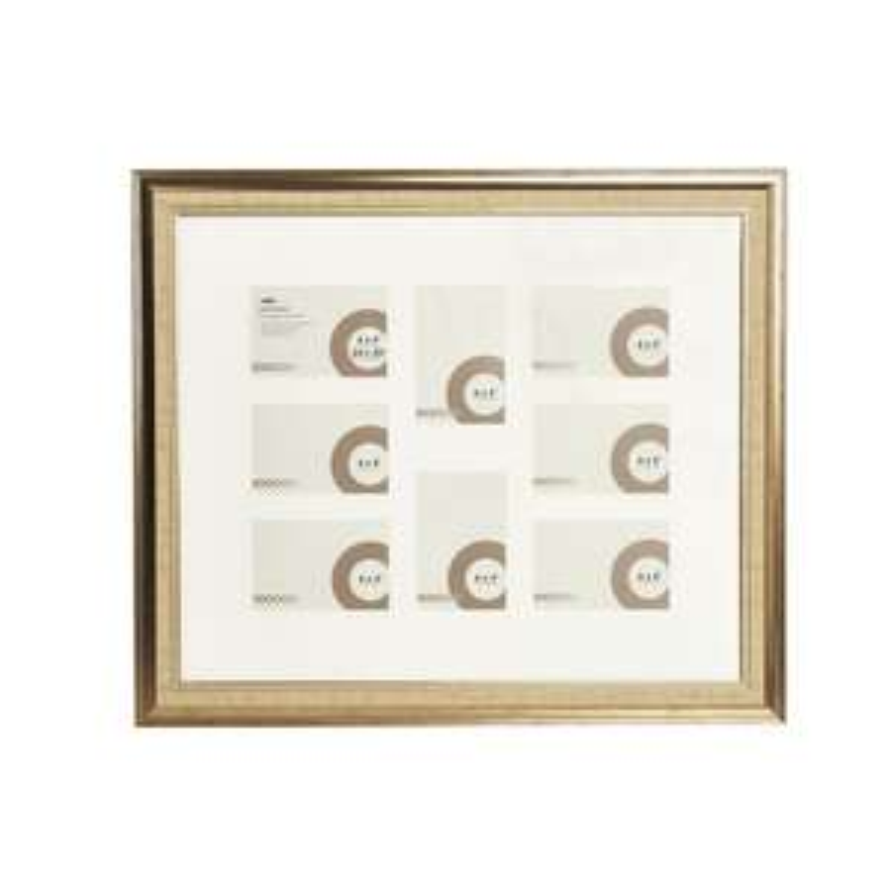 "Gold Dorchester Multi Aperture Photo Frame 20"" x 24"" for £2 @ Wilko (free C&C)"