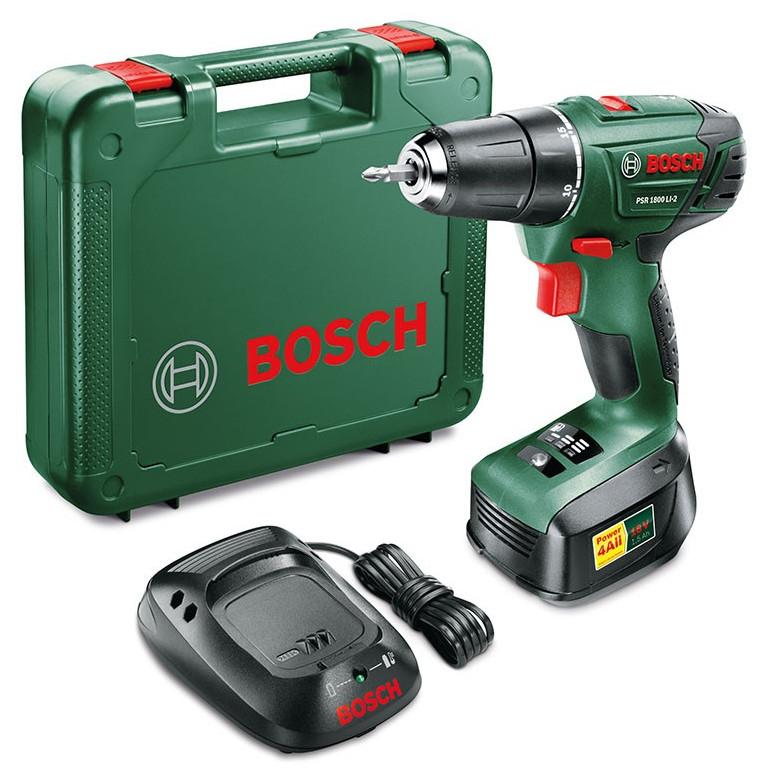 Bosch PSR 1800 18V Cordless Drill for £53.99 w/ code @ Robert Dyas (Free C&C + 3 Yrs Warranty)