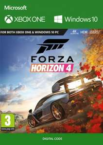 Forza Horizon 4 Xbox One/PC back to £33.99 (£32.97 with code) @ CD Key's
