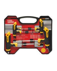 £4.99 Aldi Workzone 8 Piece t-Handle Torx Tamper-Proof Screwdriver Star Set or £4.99 8 Piece Hex Key Set