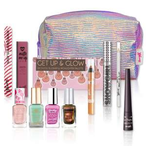 Barry M mermaid make up goody bag, contents worth £55, only £14.99 + £2.50 delivery or free del on orders over £25