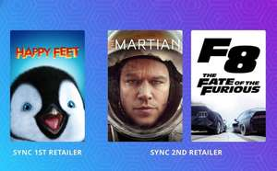 Happy Feet / The Martian / Fast & Furious 8 (All HD) - Free - MoviesAnywhere (Google Play / Amazon Video / Microsoft TV & Film)