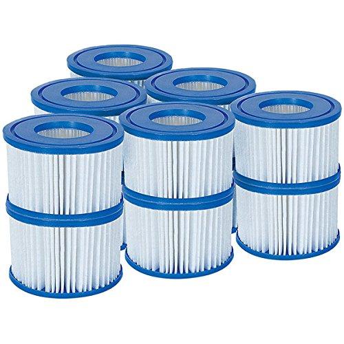 Bestway Lay-z-spa VI Filter Cartridges 12-pack £11.96 Prime Exclusive @ Amazon