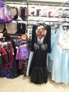 Sainsbury's Halloween Costumes now all £1 online / instore ( Free C+C wys £15)