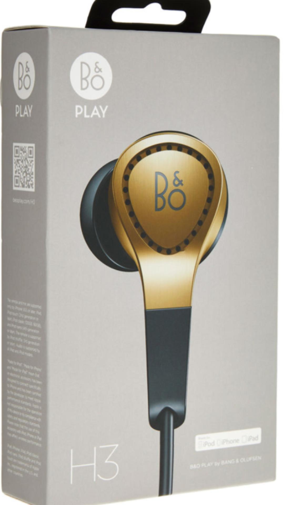 Bang & Olufsen Beoplay H3 Champagne Earphones TK Maxx £69.99 (+3.99 del / £1.99 C&C)