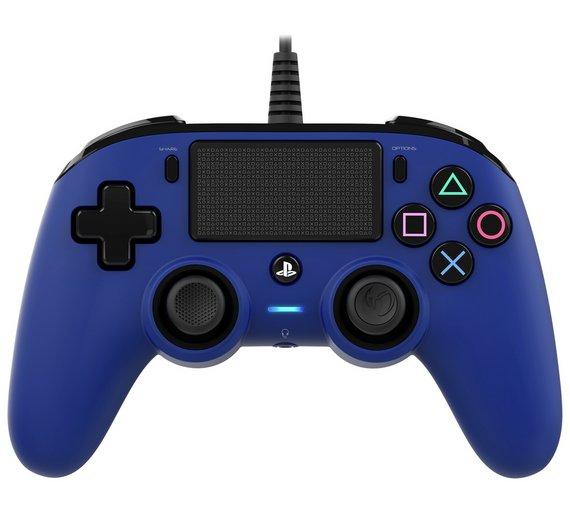 Argos: PS4 Nacon Wired  Controller Blue £14.99