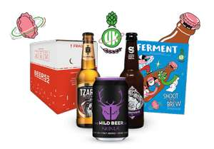 10 craft beers (light or mix of light/dark), magazine and snack for £5.95 including P&P @ Beer52 (Ongoing subscription £29 if don't cancel)