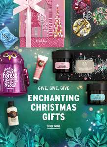 Up to 40% off* & 25% off gifts* + FREE shower gel on orders over £25