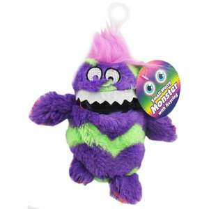 Small Worry Monster Keyring - Assorted - £2.50 @ The Works
