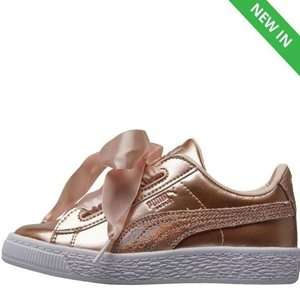 Puma Girls Basket Heart Lunar Lux Trainers  £19.99 / Skechers Girls £16.99 @ MandM Direct (p&p £4.99 or Free with Premier)