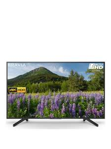 Sony KD65XF7003 65 inch, 4K HDR Ultra HD, Smart TV with Freeview Play - Black - 10% off at VERY with Code N77VV