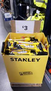 Stanley Hacksaw Dual Set - £3 - B&Q Riverside Nottingham - In-Store only