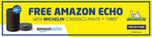 A Free amazon Echo when you buy 4 Michelin CrossClimate Tyres plus more @ ATS