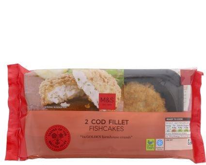 Fishcakes/Crispbakes £1 at Marks and Spencers