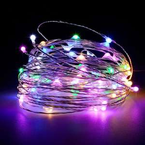Battery Operated Garland Indoor Outdoor Home Christmas Decoration Strip Light 93p Delivered using code (Singles Day) @ Rosegal