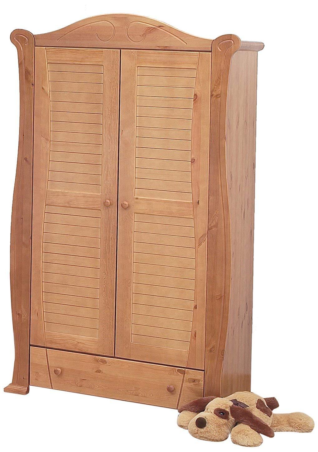 Solid Chinese Oak Wardrobe £109 at Amazon reduced from £639 @ Tutti Bambini UK