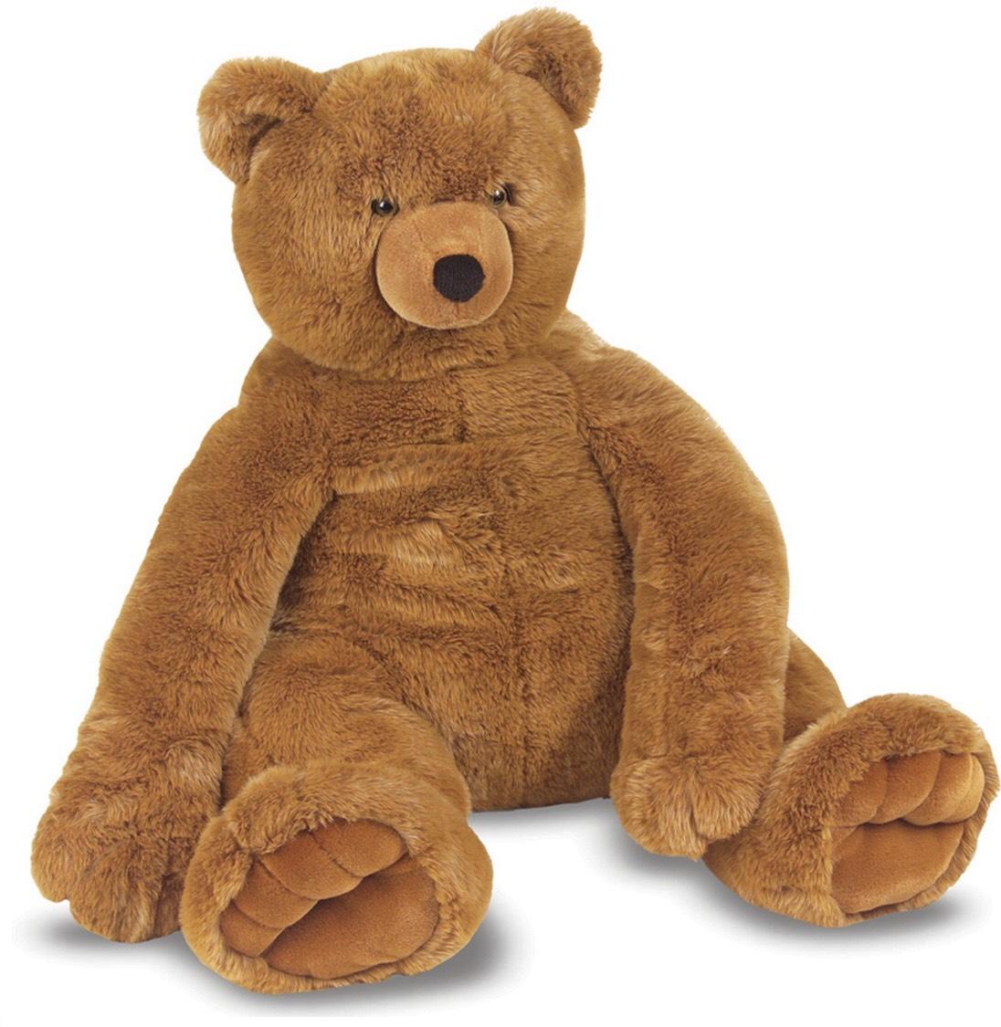 Melissa & Doug - Jumbo Teddy Bear Plush Soft Toy £37.50 @ Debenhams (£30 with code: md37)