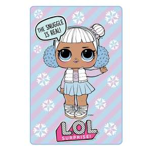 L.O.L surprise fleece blanket £5 instead of £10 at the entertainer (free C&C)