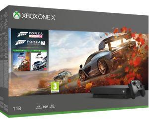 Xbox One X 1TB Forza Horizon 4 and Forza Motorsport 7 £379.99 @ shopto ebay