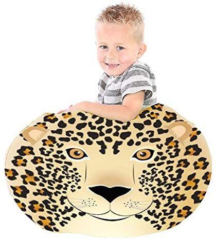 RUComfy Kids Bean Bag 'Lisa The Leopard' £8.18 Prime / £12.67 non-Prime @ Amazon