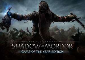 Middle-earth: Shadow of Mordor GOTY edition PC Steam Key £2.73 @ Gamivo/Playtime