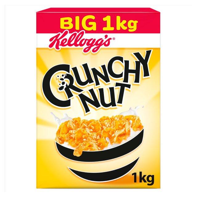 Kellogg's Crunchy Nut Cornflakes £3 for 1kg at Morrison's