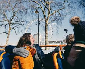 London Sightseeing Tours from £1.90pp for students others £2pp @ Megabus