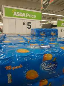 18 Pack X Rubicon Sparkling Mango Juice Drink for £5 Instore At Hayes @ ASDA
