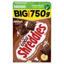 Nestle Shreddies Coco Cereal 750G half price, £1.70 Tesco