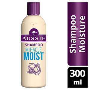£2 for any 300ml aussie shampoo or conditioner at Morrisons
