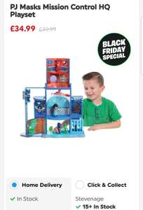 PJ Masks Mission Control HQ Playset £34.99 	Smyths Toys