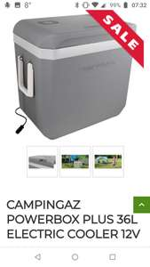 Campingaz Powerbox Plus 36 litre 12 volt coolbox £47.99 + £5.50 del at  Outdoor Camping Dired (free delivery on orders over £50)
