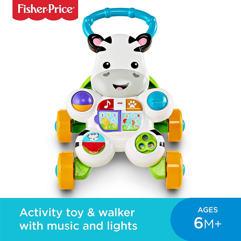 Fisher Price Zebra Baby Walker £15.98 (Prime) / £20.47 (non Prime) at Amazon