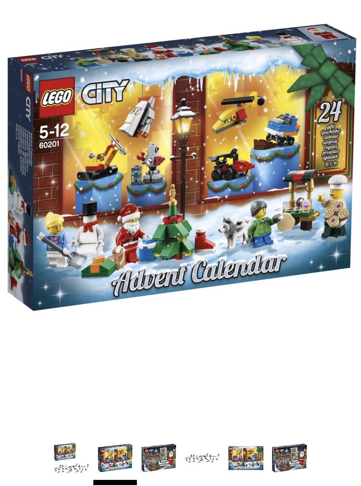 Lego 60201  City / Lego 41353  Friends 2018 Advent Calendar £16.71 (Prime) / £21.20 (non Prime)  Amazon