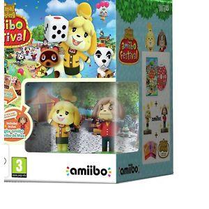 Animal Crossing amiibo Festival Nintendo Wii U Game. 3 x Amiibo Cards & 2 x Amiibo £5.99 delivered @ Argos / Ebay.