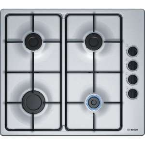 Bosch PBP6B5B80 Built-in Gas Stainless Steel Hob used £67 @ amazon warehouse