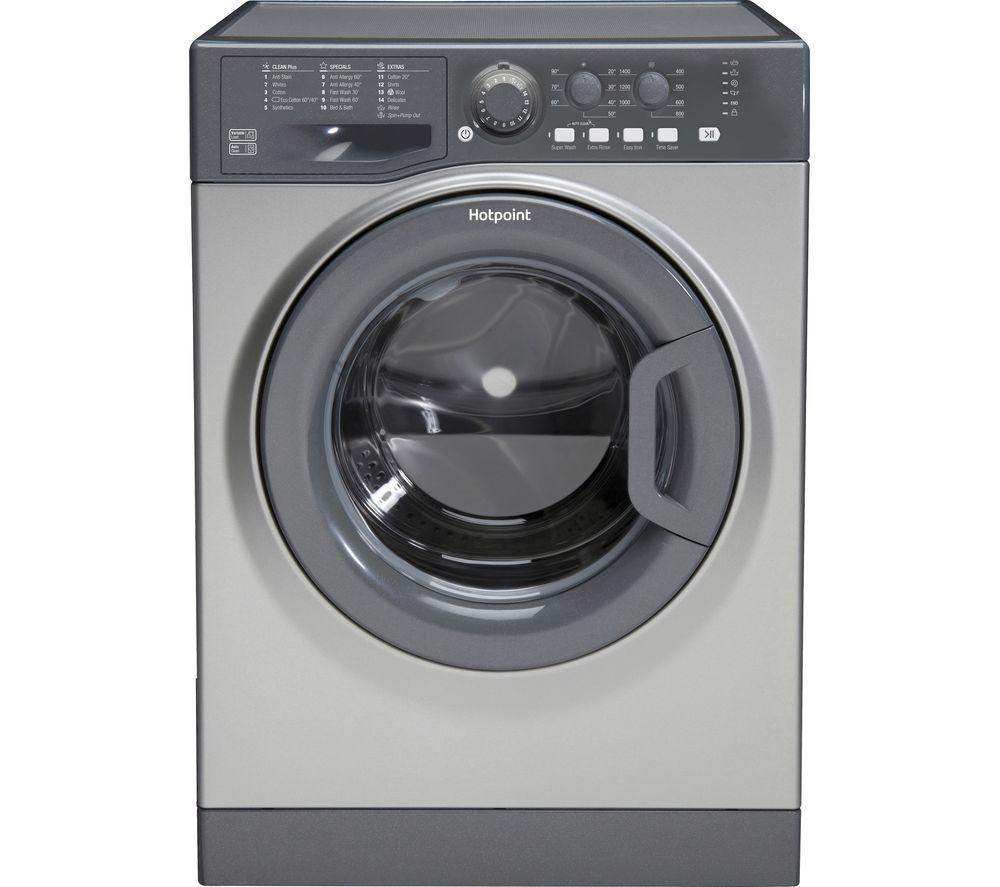 HOTPOINT FML 842 G UK 8 kg 1400 Spin Washing Machine - Graphite/White £219 / 9 kg 1400 Spin £239 @ Currys / Hotpoint WMAOD844P 8Kg £219 @ AO