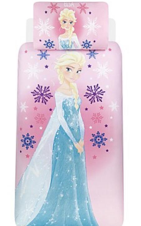 Frozen reversible bed duvet set free (single) £10 c+c @ Asda