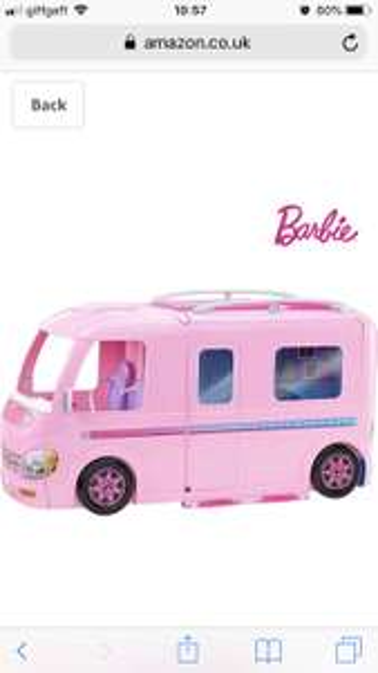 Barbie dream campervan £58.13 @ Amazon