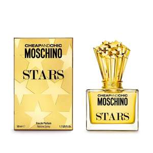 Moschino Cheap and Chic Stars Edp 50ml £12 / Aramis 110ml edt spray £20.70 free delivery, sample and gift wrap @ Beauty Base