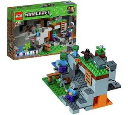 LEGO 21141 Minecraft The Zombie Cave Adventures Set  £13.80  (Prime) / £18.29 (non Prime) at Amazon