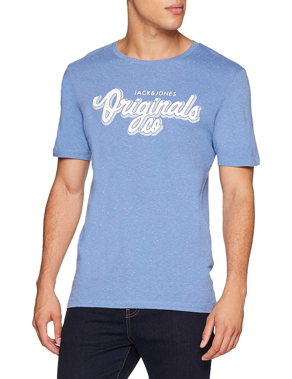 Jack & Jones Men's Jorhalt Tee Ss Crew Neck T-Shirt, £3.05 at Amazon (Add-on item)